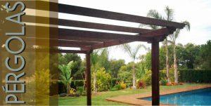 Pérgolas y estructuras de madera